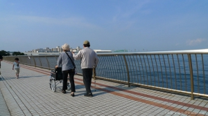 Elderly couple. photo (cc): dannychoo - flickr - 3565955787