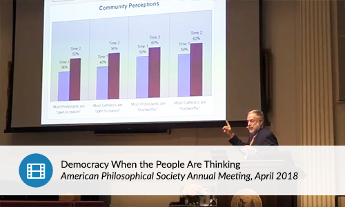 APSA: Democracy When the People are Thinking